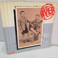Discos de vinilo: AYER Y MAÑANA... HERMANOS CALATRAVA. DISCOS DE VINILO. VERGARA 1970. VER FOTOGRAFIAS ADJUNTAS. Lote 81824800