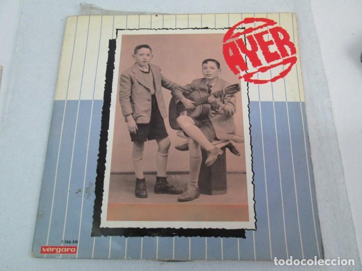 Discos de vinilo: AYER Y MAÑANA... HERMANOS CALATRAVA. DISCOS DE VINILO. VERGARA 1970. VER FOTOGRAFIAS ADJUNTAS - Foto 2 - 81824800