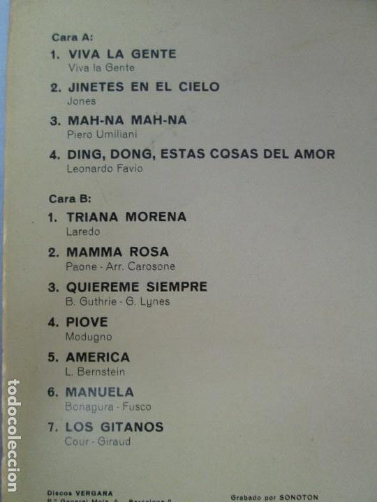 Discos de vinilo: AYER Y MAÑANA... HERMANOS CALATRAVA. DISCOS DE VINILO. VERGARA 1970. VER FOTOGRAFIAS ADJUNTAS - Foto 4 - 81824800