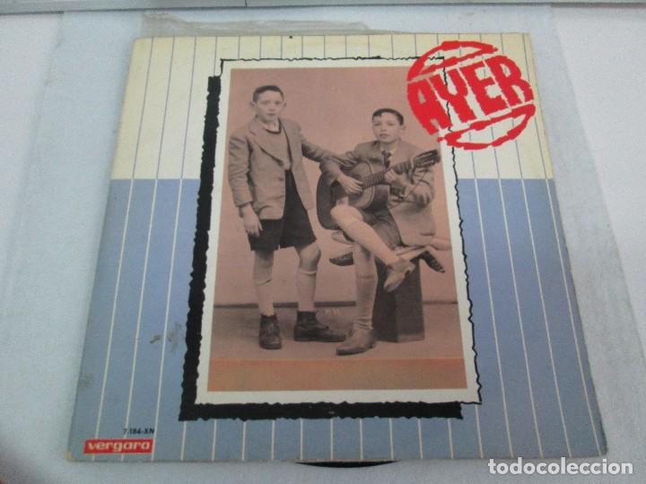 Discos de vinilo: AYER Y MAÑANA... HERMANOS CALATRAVA. DISCOS DE VINILO. VERGARA 1970. VER FOTOGRAFIAS ADJUNTAS - Foto 7 - 81824800