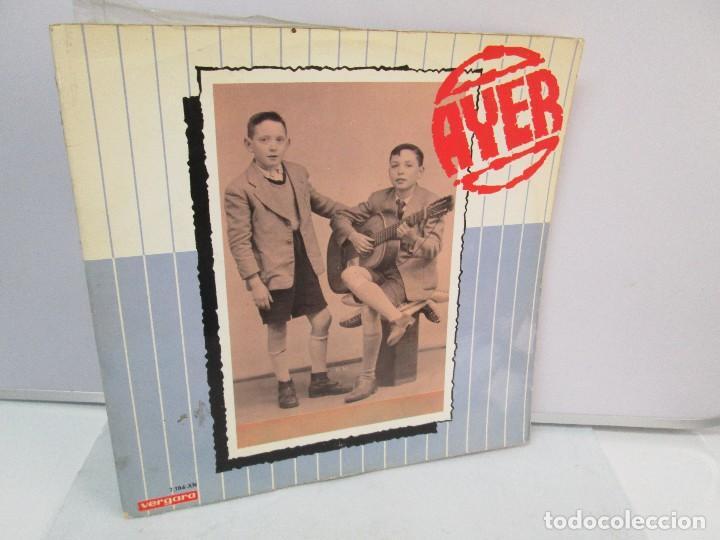 Discos de vinilo: AYER Y MAÑANA... HERMANOS CALATRAVA. DISCOS DE VINILO. VERGARA 1970. VER FOTOGRAFIAS ADJUNTAS - Foto 8 - 81824800