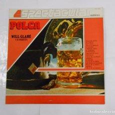 Discos de vinilo - WILL GLAHE Y SU ORQUESTA - POLCA - LP. TDKDA17 - 81827156