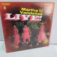 Dischi in vinile: MARTHA AND THE VANDELLAS. LIVE!. DISCO DE VINILO. GORDI 1967. VER FOTOGRAFIAS ADJUNTAS. Lote 81827160