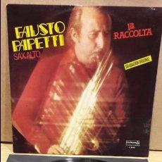 Discos de vinilo: FAUSTO PAPETTI. SAX ALTO. 1ª RACCOLTA. LP / DURIUM - 1978 / LEVES MARCAS DE USO. ***/**. Lote 81833960