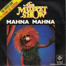 Discos de vinilo: THE MUPPET SHOW - MAHNA MAHNA / HALFWAY DOWN THE STAIRS (SINGLE ESPAÑOL, PYE 1977(. Lote 98196244