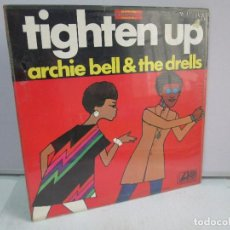Discos de vinilo: TRIGHTEN UP. ARCHIE BELL & THE DRELLS. DISCO DE VINILO. ATLANTIC 1968. VER FOTOGRAFIAS ADJUNTAS. Lote 81888776