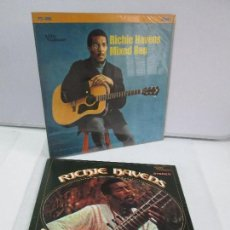 Discos de vinilo: RICHIE HAVENS. SOMETHING ELSE AGAIN. MIXED BAG. DOS DISCOS DE VINILO. VERWE FORECAST. VER FOTOS. Lote 81891148