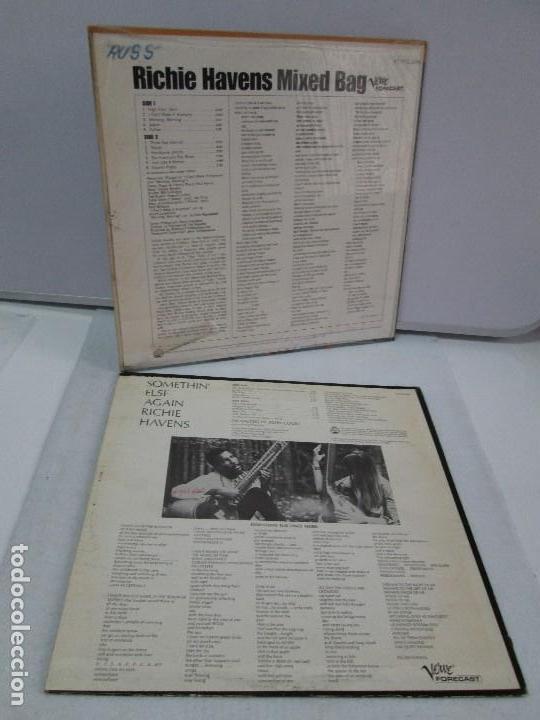 Discos de vinilo: RICHIE HAVENS. SOMETHING ELSE AGAIN. MIXED BAG. DOS DISCOS DE VINILO. VERWE FORECAST. VER FOTOS - Foto 11 - 81891148