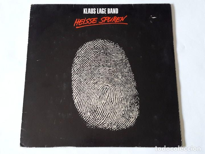 KLAUS LAGE BAND - HEISSE SPUREN - 1985 - LP (Música - Discos - LP Vinilo - Pop - Rock - New Wave Extranjero de los 80)