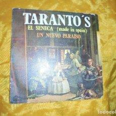 Discos de vinilo: TARANTO´S. EL SENECA / UN NUEVO PARAISO. MOVIE PLAY 1969. IMPECABLE. Lote 81936600