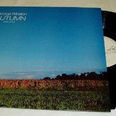 Discos de vinilo: GEORGE WINSTON ?– AUTUMN LP 1982 HOLANDA, WINDHAM HILL RECORDS. Lote 81937824