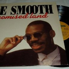 Discos de vinilo: JOE SMOOTH ?– PROMISED LAND LP 1989-BOY RECORDS. Lote 81940012