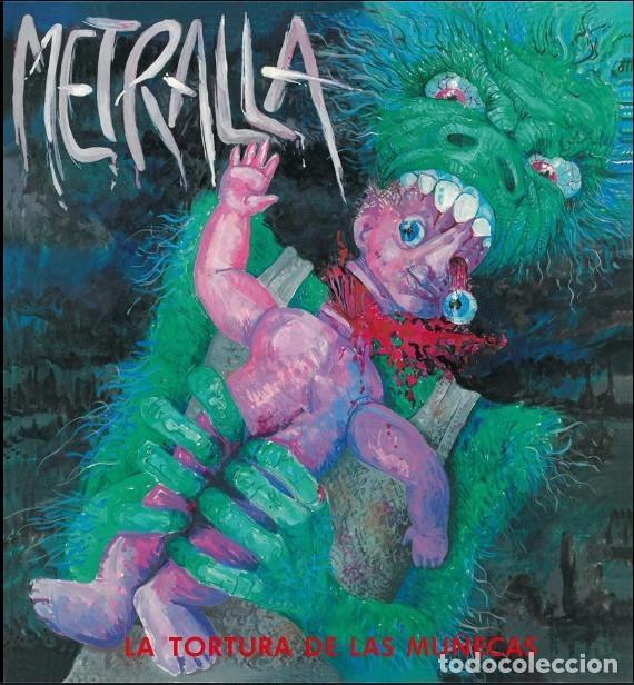 METRALLA – LA TORTURA DE LAS MUÑECAS -EP VINYL SPANISH THRASH METAL RARE. (CROM MURO ASPID) NUEVO (Música - Discos de Vinilo - EPs - Heavy - Metal)