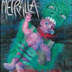 Discos de vinilo: METRALLA – LA TORTURA DE LAS MUÑECAS -EP VINYL SPANISH THRASH METAL RARE. (CROM MURO ASPID) NUEVO. Lote 81942668