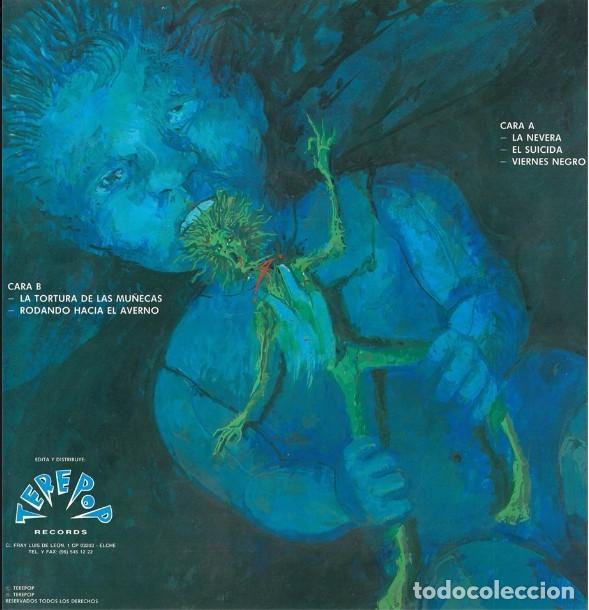 Discos de vinilo: Metralla – La Tortura De Las Muñecas -EP Vinyl SPANISH THRASH METAL RARE. (Crom Muro Aspid) NUEVO - Foto 2 - 81942668