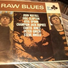 Discos de vinilo: RAW BLUES - LP 1967 UK. Lote 81953296