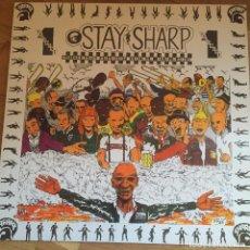 Disques de vinyle: LP. STAY SHARP. VOL. I. MR. REVIEW, 100 MEN, THE NEW APOLLO 7, MALARIANS, SKARFACE...ETC.. Lote 81973196