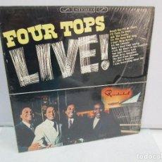 Discos de vinilo: FOUR TOPS LIVE! DISCO DE VINILO. MOTOWN 1966. VER FOTOGRAFIAS ADJUNTAS. Lote 81987796
