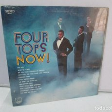 Discos de vinilo: FOUR TOPS NOW! DISCO DE VINILO. MOTOWN 1969. VER FOTOGRAFIAS ADJUNTAS. Lote 81989656
