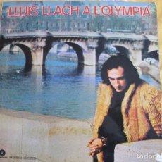 Discos de vinilo: LP - LLUIS LLACH - A L'OLYMPIA (SPAIN, FONOMUSIC 1984, PORTADA DOBLE). Lote 82012880