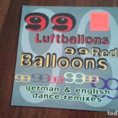 Discos de vinilo: BOMM BASTIC -99 RED BALLOONS.MAXI ESPAÑA. Lote 82027636