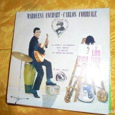 Discos de vinilo: MARQUESA ANCHART-CARLOS CORRIALE Y LOS TICO TICO. EL DIABLO LO ENREDO + 3. EP. FIDIAS 1966.IMPECABLE. Lote 82035628