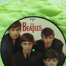 Discos de vinilo: THE BEATLES SINGLE DISC PICTURE LOVE ME DO EDICIÓN 20 ANIVERSARIO SIN ESTRENAR . Lote 82039820