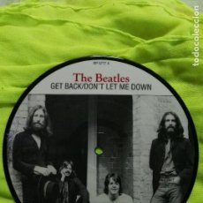 Discos de vinilo: THE BEATLES SINGLE DISC PICTURE GET BACK EDICIÓN 20 ANIVERSARIO SIN ESTRENAR . Lote 82040096