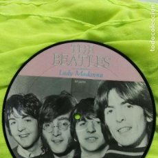 Discos de vinilo: THE BEATLES SINGLE DISC PICTURE LADY MADONNA EDICIÓN 20 ANIVERSARIO SIN ESTRENAR . Lote 82040192
