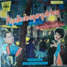 Discos de vinilo: MARTINE BRISSAC CON JEAN FRED - PIGALLE DE AYER Y DE HOY - EDICIÓN DE 1960 DE ESPAÑA. Lote 82064268