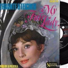 Disques de vinyle: FERRANTE Y TEICHER: MY FAIR LADY: ME ACOSTUMBRÉ A TI / PODRÍA YO BAILAR / LA CALLE DONDE VIVES + 1. Lote 120763814