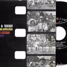 Disques de vinyle: FERRANTE Y TEICHER: ÉXITOS DE LAS PELÍCULAS VIVIR DE ILUSIÓN Y GYPSY: LIDA ROSE / TODO SALE BIEN + 2. Lote 82067420