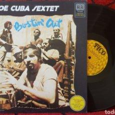 Discos de vinilo: JOE CUBA BUSTIN' OUT LP VENEZUELA TICO JAZZ LATINO . Lote 82083216