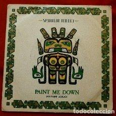 Discos de vinilo: SPANDAU BALLET (SINGLE 1981) PAINT ME DOWN (PINTAME ABAJO) - MAN WITH GUITAR - TONY HADLEY. Lote 82087764