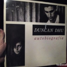 Discos de vinilo: LP DOBLE DUNCAN DHU AUTOBIOGRAFÍA . Lote 82089692