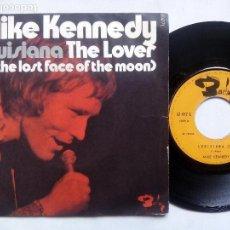 Discos de vinilo: MIKE KENNEDY. LOUISIANA. SINGLE BARCLAY 61477L. FRANCE . THE LOVER. LOS BRAVOS. FERNANDO ARBEX.. Lote 82096604