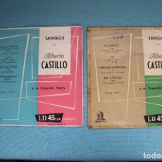 Discos de vinilo: DISCOS DE ALBERTO CASTILLO-TANGOS. Lote 82104668