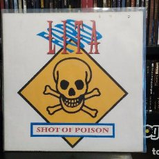 Discos de vinilo: LITA FORD - SHOT OF POISON. Lote 82105280