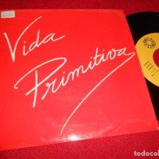 Discos de vinilo: VIDA PRIMITIVA EL SUICIDA/PALACIO DE INVIERNO 7 SINGLE 1985 RECORD 83 MOVIDA SYNTH POP RARO. Lote 82112364