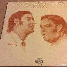 Discos de vinilo: LOS ROCIEROS. ANTOLOGIA DEL FANDANGO DE HUELVA. MOVIEPLAY. 1977. LP DOBLE.. Lote 82140204