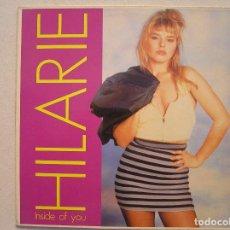 Discos de vinilo: HILARIE - INSIDE OF YOU - DON DISCO 1988 - MAXI - P. Lote 82173268