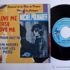 Discos de vinilo: MICHEL POLNAREFF. LOVE ME PLEASE LOVE ME. EP DISC AZ EP 1053. FRANCE. L'AMOUR AVEC TOI.. Lote 82179960