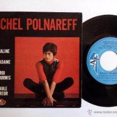 Discos de vinilo: MICHEL POLNAREFF. AME CALINE. EP DISC AZ EP 1130. FRANCE. FAT MADAME. LE ROI DES FOURMIS.. Lote 82181740