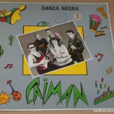 Discos de vinilo: CAIMAN DANZA NEGRA / AFROCUBANDINA / GUANTANAMERA - 1988 ESTOPI. Lote 82186456