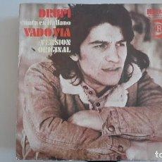 Discos de vinilo: DRUPI CANTA EN ITALIANO SG ESPAÑOL. Lote 82195572