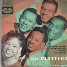 Discos de vinilo: THE PLATTERS. Lote 82200596