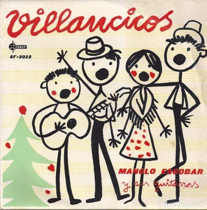 MANOLO ESCOBAR, VILLANCICOS 1959 (Música - Discos - Singles Vinilo - Solistas Españoles de los 50 y 60)