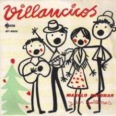 Discos de vinilo: MANOLO ESCOBAR, VILLANCICOS 1959. Lote 82202628