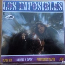 Discos de vinilo: LOS IMPOSIBLES ‎– JUDY SINGLE ANIMAL RECORDS. Lote 82203072