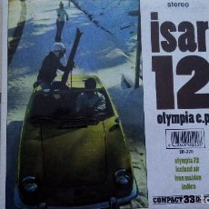 Discos de vinilo: ISAR 12 OLYMPIA E.P.. Lote 82203488